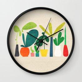 Greens Wall Clock