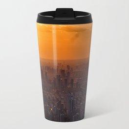 Tianjin City at Sunset Travel Mug