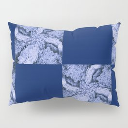 Season of the Square - Sapphire Check Pillow Sham
