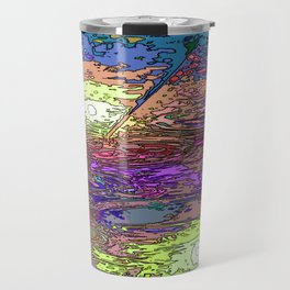 Technicolor Puddles Travel Mug