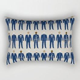 Very Mod Squad; Bauhaus Movement Rectangular Pillow