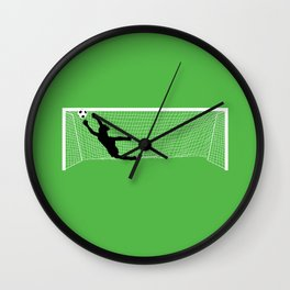 Leaping Keeper Wall Clock