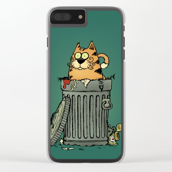 Stray cat Clear iPhone Case