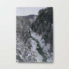 Winter in Vermont Metal Print