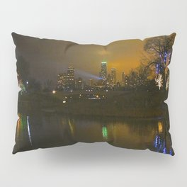 Christmas Lights, City Lights, Spot Lights: A Chicago Tableau (Chicago Christmas/Holiday Collection) Pillow Sham