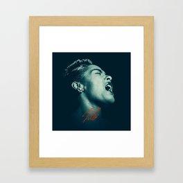 Billie / The great Billie Holiday Framed Art Print