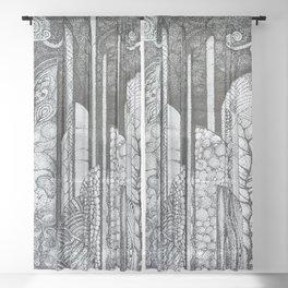 spire dreams Sheer Curtain