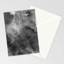 ink style of black watercolour texture Stationery Cards