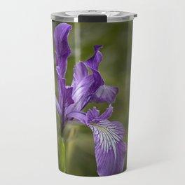 Free Ranging Wild Iris Travel Mug