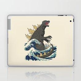 The Great Monster Off Kanagawa Laptop & iPad Skin