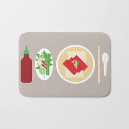 Sriracha Meal Bath Mat