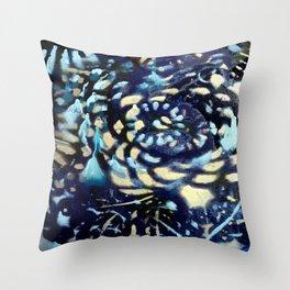 SeaFoam BLue Throw Pillow