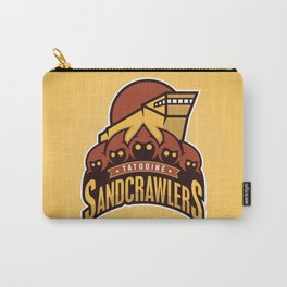 Tatooine SandCrawlers - Gold Carry-All Pouch