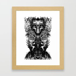 Test your Mind (t-shirt) Framed Art Print