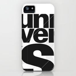 Univers iPhone Case