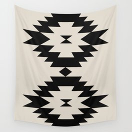 Southwestern Minimalism - Black Wall Tapestry