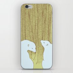 bears in the forest iPhone & iPod Skin