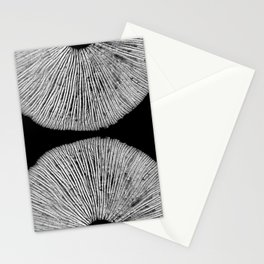 Abstract Spore Print Stationery Cards