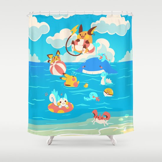 Splash Attack Shower Curtain