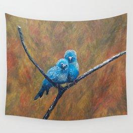 Canary Love Birds Wall Tapestry