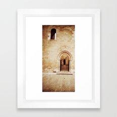 Pierres de lumière Framed Art Print