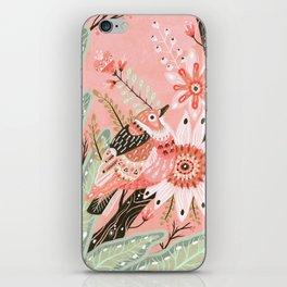 Little Pink Bird iPhone Skin