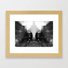 Girl Blur Framed Art Print