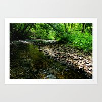 Elvish River Art Print
