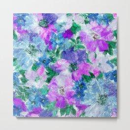 Splendid Flowers 3 Metal Print