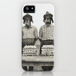 Dust Ball iPhone Case