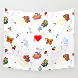 Favorites Wall Tapestry