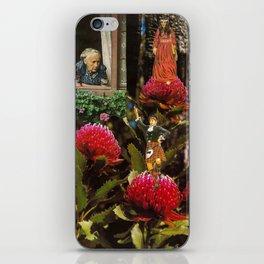 Cross Pollination on the Waratah iPhone Skin