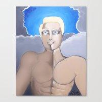 roman Canvas Prints featuring Roman by Artist Fran Doll