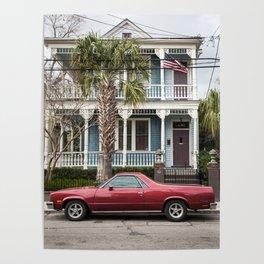 Charleston, USA Poster