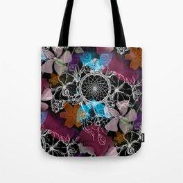 Floral Flutter Dream Tote Bag