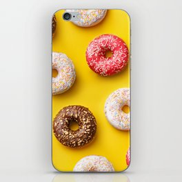 Donuts lovers iPhone Skin
