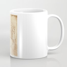 Da Vinci Horse In Piaffe Coffee Mug