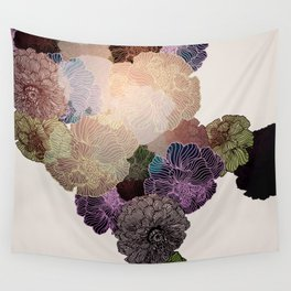 Florals // Pattern III Wall Tapestry