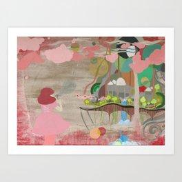 Bubblelandia Art Print