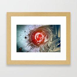 The System Framed Art Print
