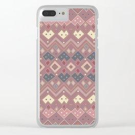 Pink Sensation Clear iPhone Case