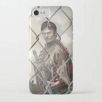 walking dead iPhone & iPod Cases featuring The Walking Dead by ketizoloto