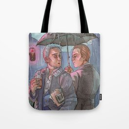 Don't go Home just Now [Mystrade] Tote Bag