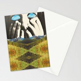 Nauges dans les yeux Stationery Cards