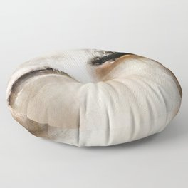 Natural Abstract Painting - Modern Handwritten Contemporary (Most Popular) Floor Pillow