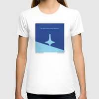 inception T-shirts featuring No240 My Inception minimal movie poster by Chungkong
