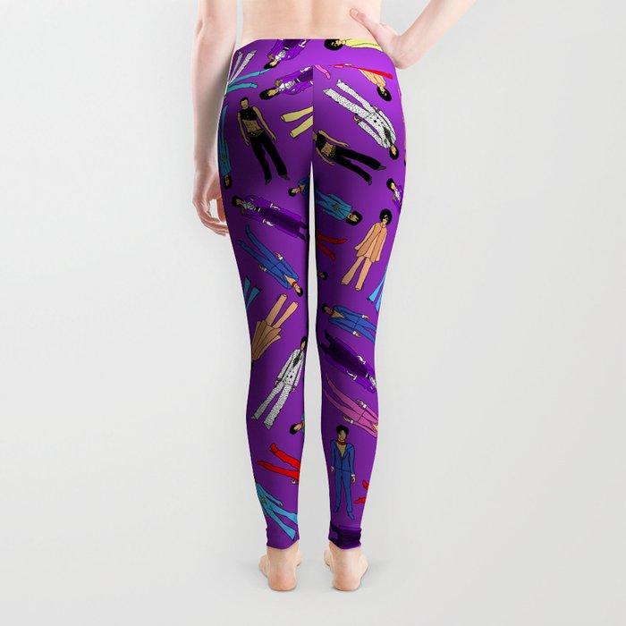 Purple Pattern 2 Leggings