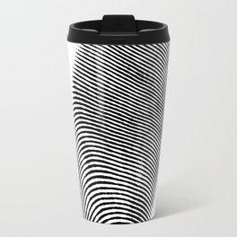 Finger print design Travel Mug
