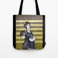 homestuck Tote Bags featuring SolKat by Sprat