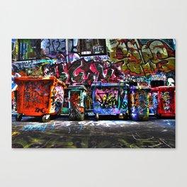 Hoiser Lane, Melbourne Canvas Print